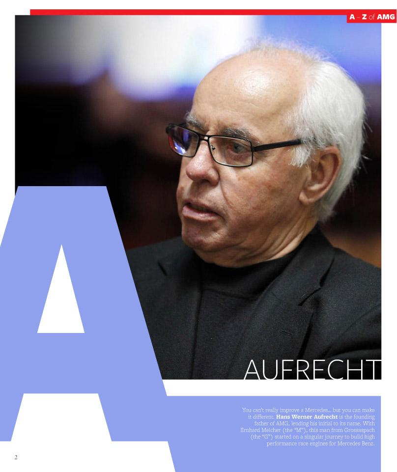 Print based brochure design for Mercedes