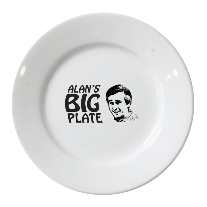 Alans Big Plate | Graphic Designer London