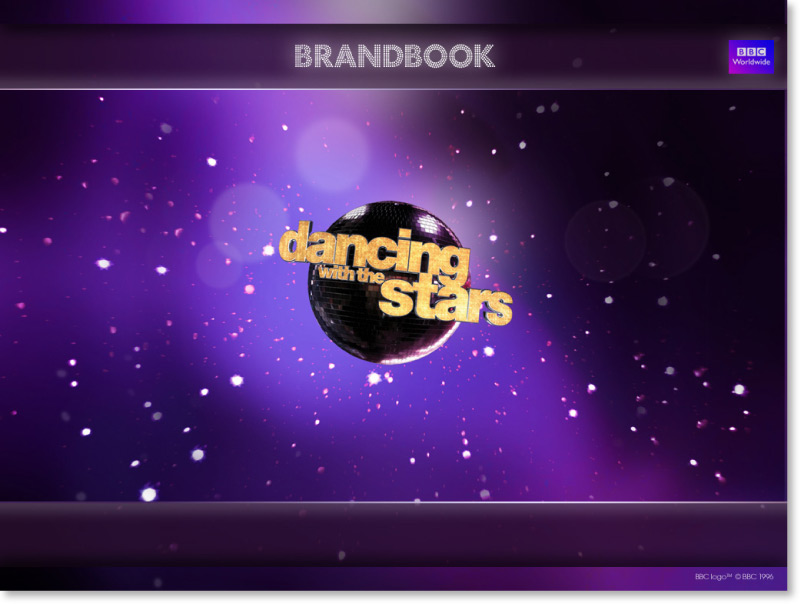 Dancing with the Stars Screen shot design Intro | Graphic Designer London