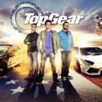 landscape graphic design for Top Gear USA poster