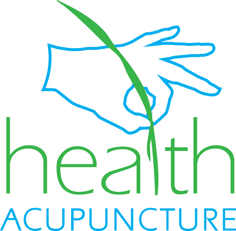 health acupuncture logo and branding design