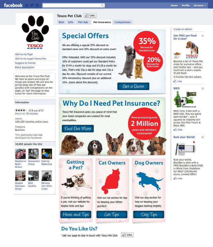Tesco Pet Club Design | Graphic Designer London