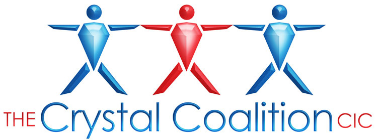 Crystal Coalition Logo Design