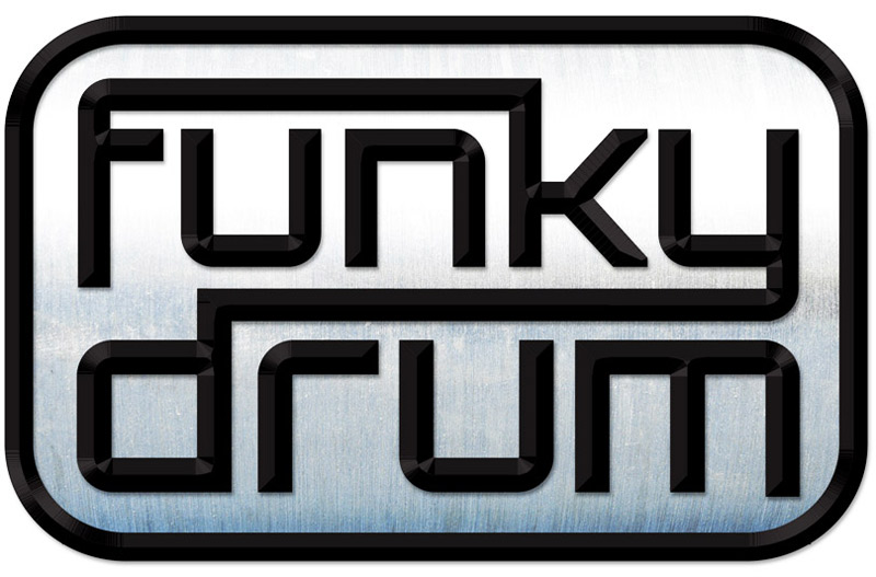 Funky Drum Logo Design
