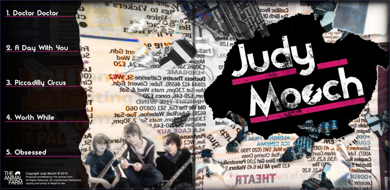 Judy Mooch Album Design